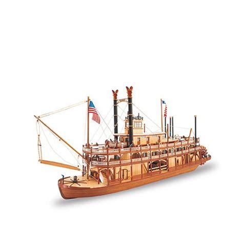 barco de vapor maqueta madera barco de vapor rey del mississippi 161 ya