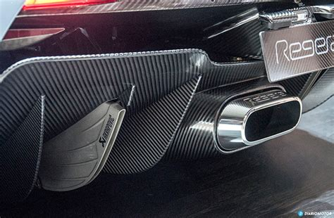 koenigsegg regera exhaust akrapovič and the cooperation with koenigsegg