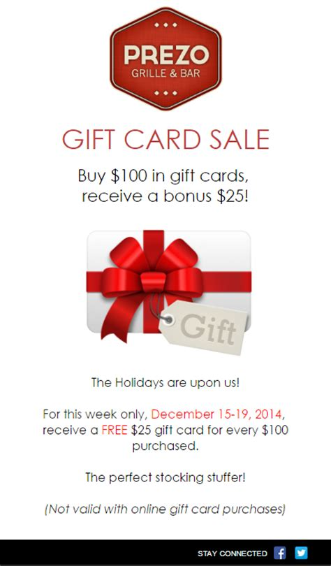 Gift Cards By Email - 5 unique holiday promotions your customers will love