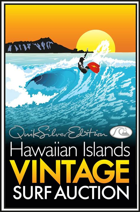 vintage surf pin by kauai vacation home rental on hawaii vintage