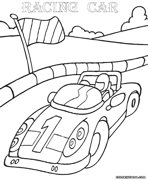 racing car coloring pages coloring pages to download and
