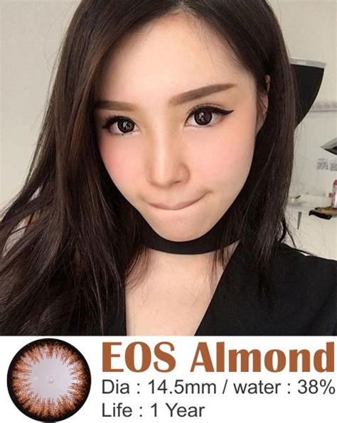 Softlense By Dreamcon jual softlens eos almond free ongkir softlensmurahku