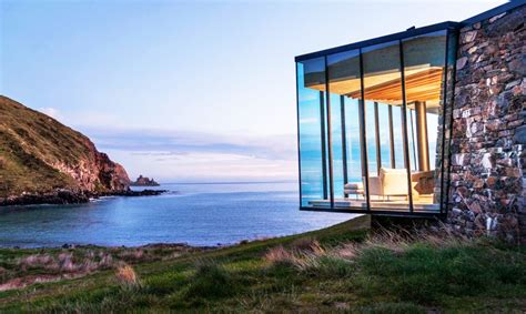 seascape cottage is a self sustaining getaway made from