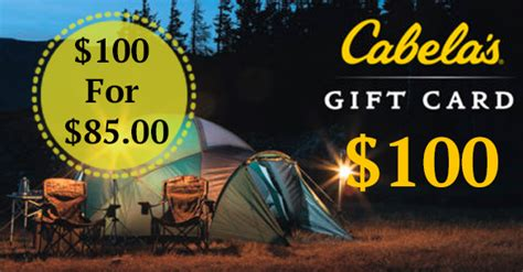 Cabellas Gift Card - gift card deals cabela s coupons 4 utah