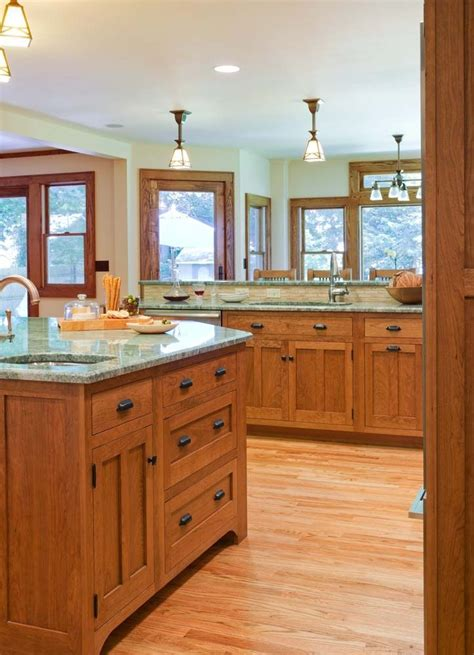 craftsman style kitchen craftsman style bungalow house de 25 bedste id 233 er inden for craftsman style bungalow p 229