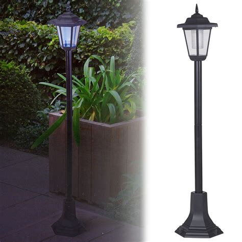 Solar Garden L Post Lights Solar Powered Garden Lights Lantern L Black Led Pathway