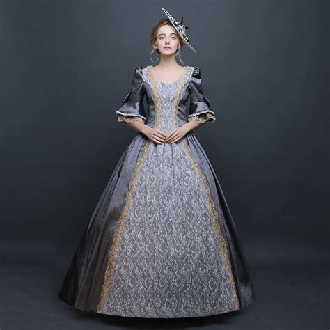 Stylish Costume Of The Day Antoinette by Sale Fashion Grey Civil War Southern Dress