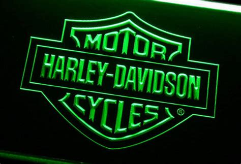 harley davidson lighted signs sell harley davidson motorcycle led neon sign light led