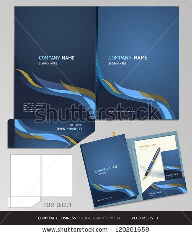 corporate folder template folder design stock photos images pictures