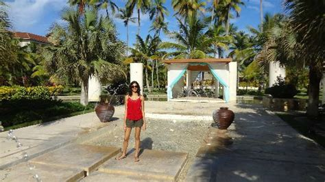 now larimar punta cana wedding packages water and an altar looking place seems like
