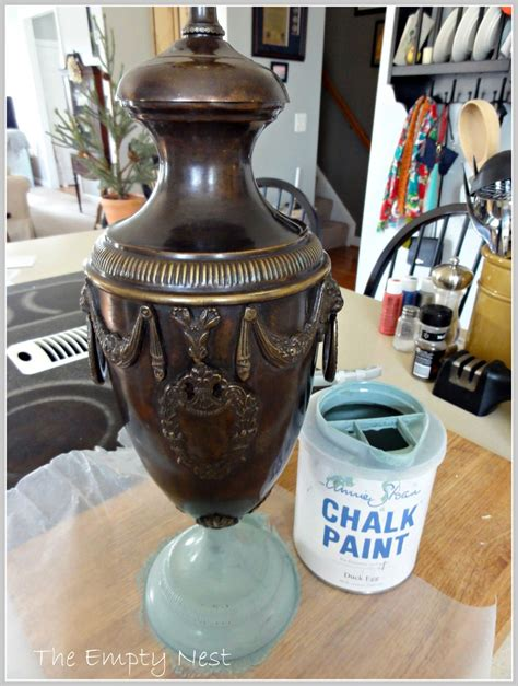 chalk paint on metal thrifted metal l before sloan chalk paint