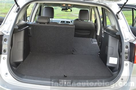 suzuki boots maruti s cross boot seat folded review