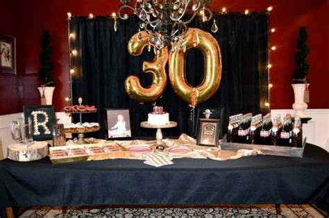 30th birthday table centerpieces 21 awesome 30th birthday ideas for shelterness