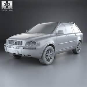 Volvo Xc90 Models Volvo Xc90 2002 3d Model Hum3d