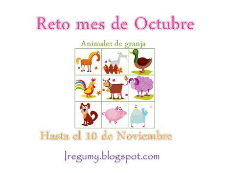 imagenes de octubre noviembre iregumy presentaci 211 n reto mes de octubre animales de granja