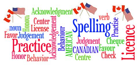 American Spelling Resume by How To Differentiate Between Canadian American Spelling