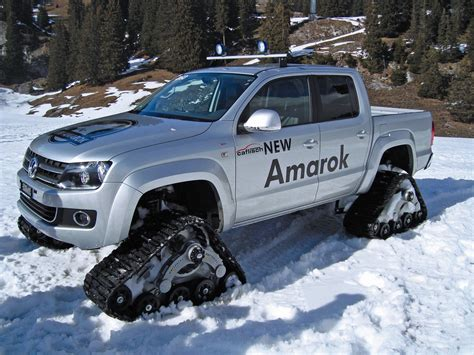 volkswagen snow volkswagen amarok snow