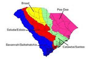 carolina lands map south carolina region map