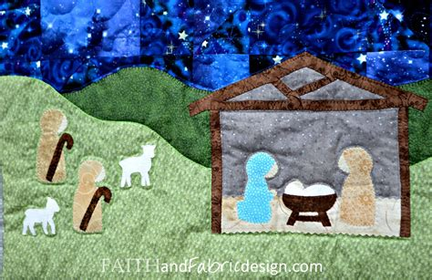 pattern for fabric nativity scene pattern silent night quilt pattern a christmas nativity