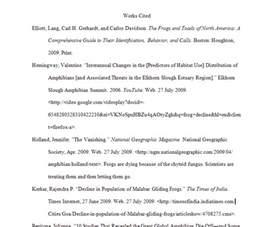 apa work cited website exle