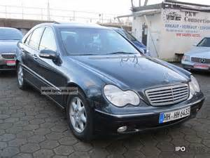 Mercedes Kompressor 2002 2002 Mercedes C 200 Kompressor Car Photo And Specs