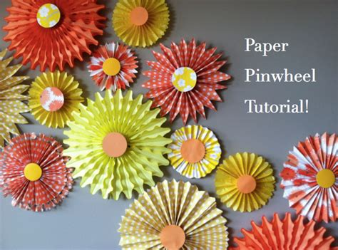 How To Make Tissue Paper Pinwheels - mintagehome craft lab pinwheel photo backdrop