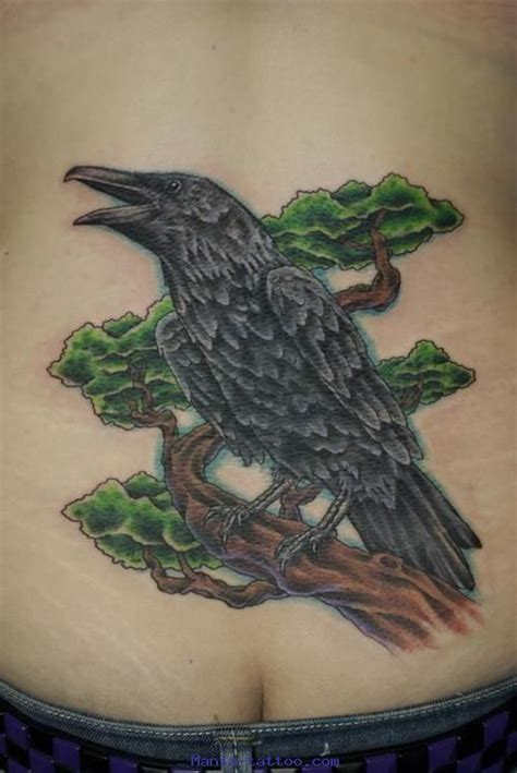 photos tatouages pictures tattoos ovipare tattoo corbeau