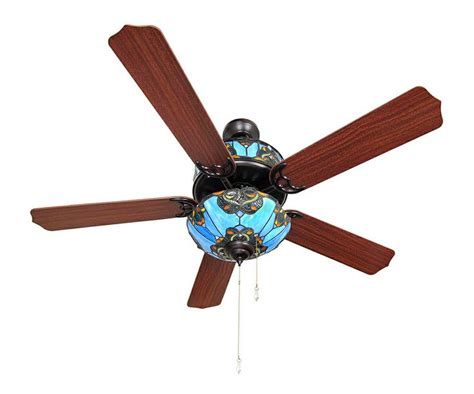 ceiling fan with stained glass light 78 images about stained glass ceiling fan on pinterest
