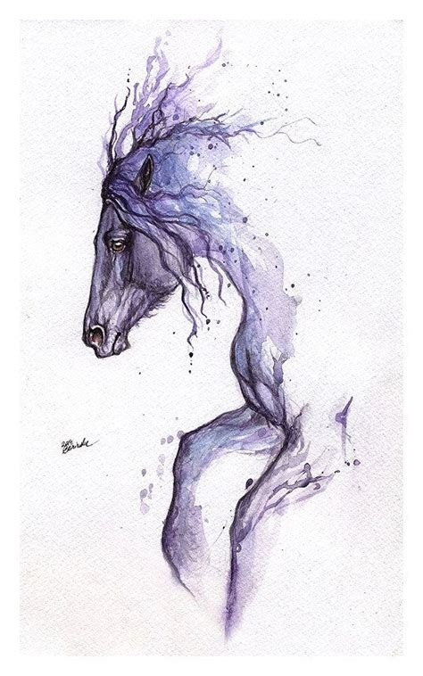 watercolor tattoos horse 292 best images about horses in watercolor on