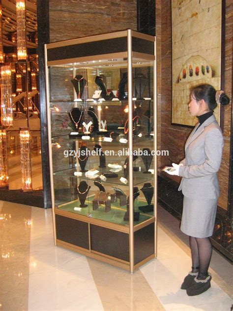 Modern Glass Display Cabinet,Metal Toy Display Cabinet