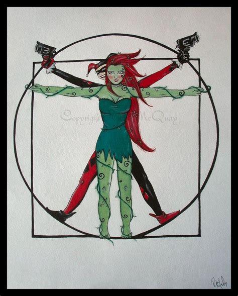 joker tattoo parody rebecca dezuanni keenan poison quinn poison ivy and