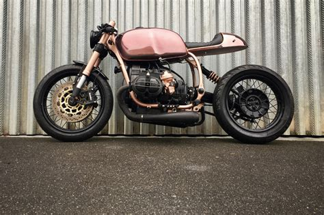 R100 Personal Robot Is So Darn by Bmw R100 R Mystic Is A Shiny Copper Clad Caf 233 Racer