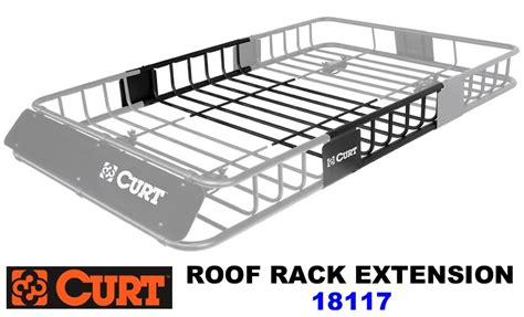 Curt Roof Rack by Curt Safari Roof Rack Extension 18117