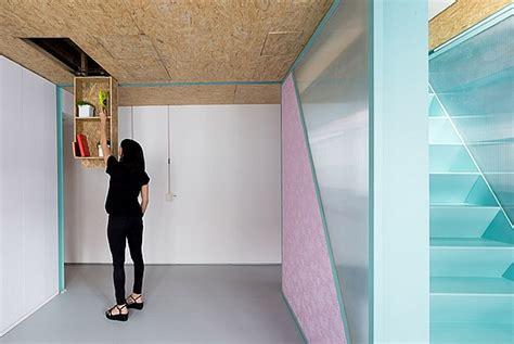 space saving modern loft