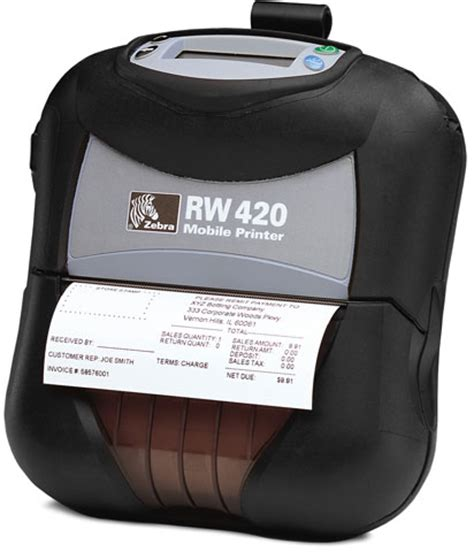 tattoo rw printer price zebra rw 420 portable printer the barcode experts low