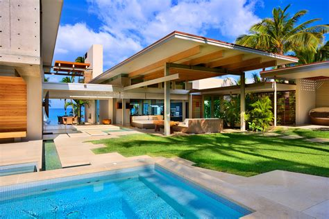 hawaii home design private residence maui bossley architects archinect