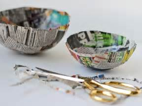 How To Make Paper Mache Bowls - how to make paper mache bowls hgtv