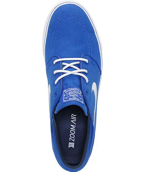 Nike Original Stefan Janoski Royal Blue Idr 1 099 000 nike sb zoom stefan janoski royal blue white canvas shoes zumiez