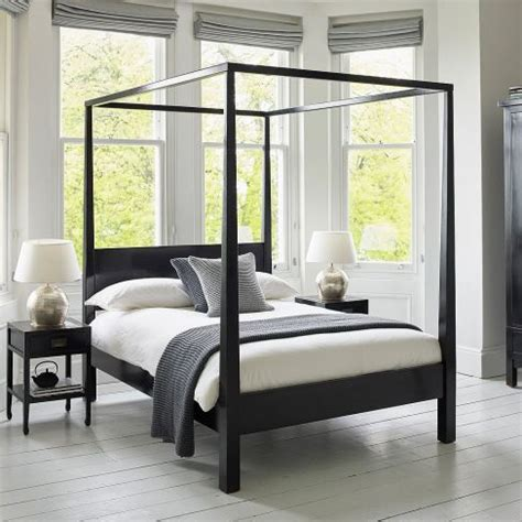 black four poster bed four poster beds our pick of the best housetohome co uk