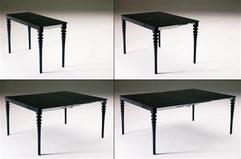 uitschuifbare tafel wehk slim omgaan met ruimtegebrek gimmii dutch design