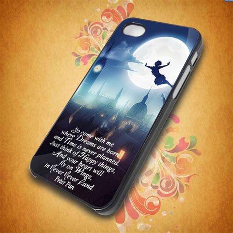 Disney Pan Quotes Iphone 5 5s Se 6 Plus 4s Samsung Htc pan quote for apple phone iphone 4 4s iphone 5 cover plastic stylin