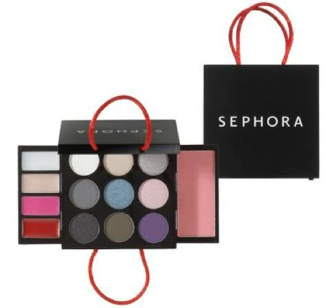 sephora mini shopping bag makeup palette 465 tongue in chic