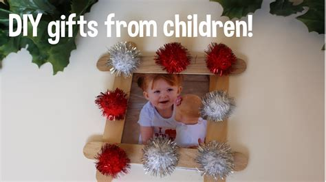 diy christmas gifts from your children toddler friendly