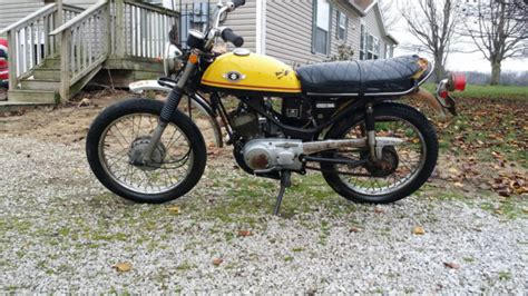 Suzuki Trail 1969 Suzuki Tc120 Trail Cat 120