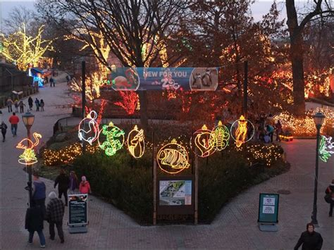 Toledo Zoo Lights Compete For Best In U S Toledo Blade Zoo Lights Hours