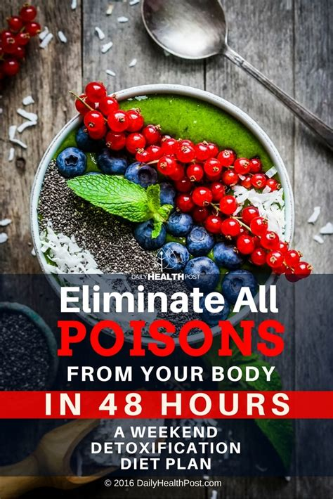 Detox In 12 Hours by Eliminate All Poisons From Your A Weekend Detox Cleanse