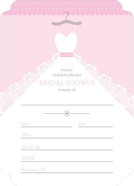 bridal shower invitations email white wedding dress fill in the blank bridal shower invite