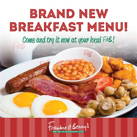 Frankie And Bennys Gift Card - breakfast at frankie benny s white rose shopping centre
