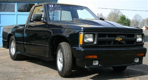 s10 bed size 1991 chevy s10 pickup pro street