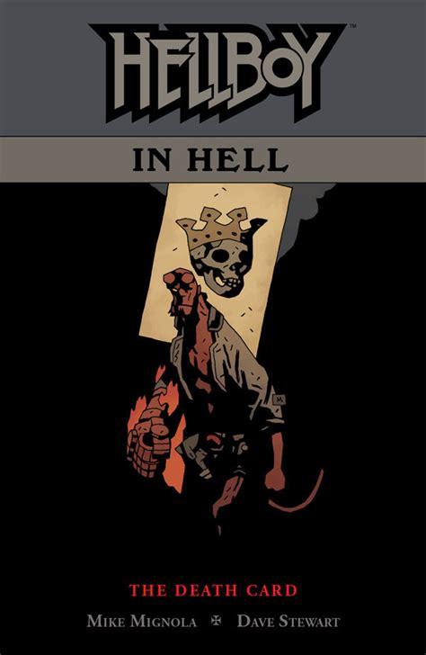 hellboy in hell volume b01j1xic1u hellboy in hell volume 2 the death card tpb profile dark horse comics